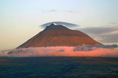 Азоры. Вулкан Пику.